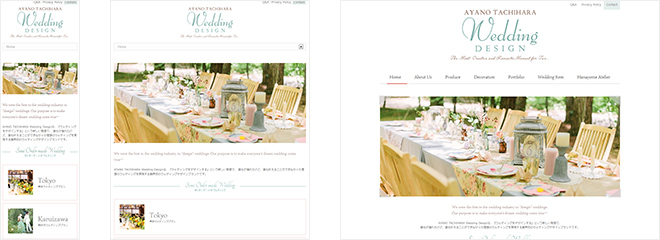 AYANO TACHIHARA Wedding Design