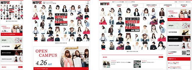 国際トータルファッション専門学校[NITF]