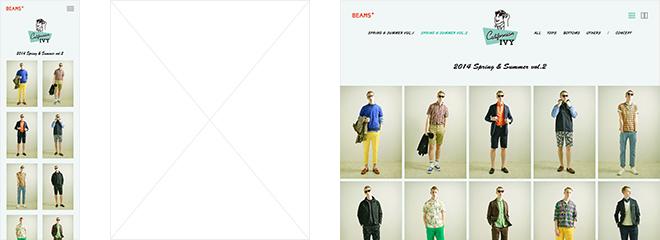 BEAMS PLUS 2014 SPRING & SUMMER Californian IVY