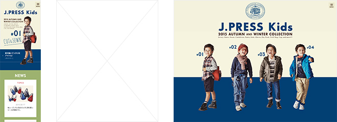 J.PRESS kids – ONWARD –