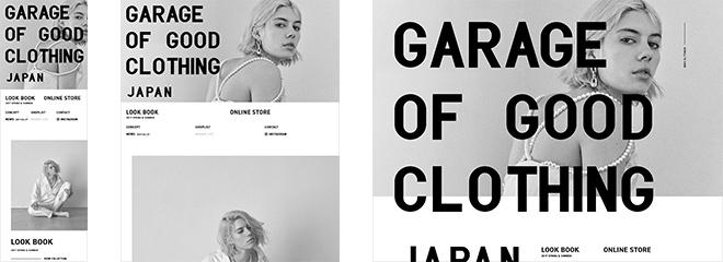 GRAGE OF GOOD CLOTHING JAPAN
