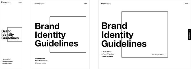 Francfranc Brand Identity Guidelines