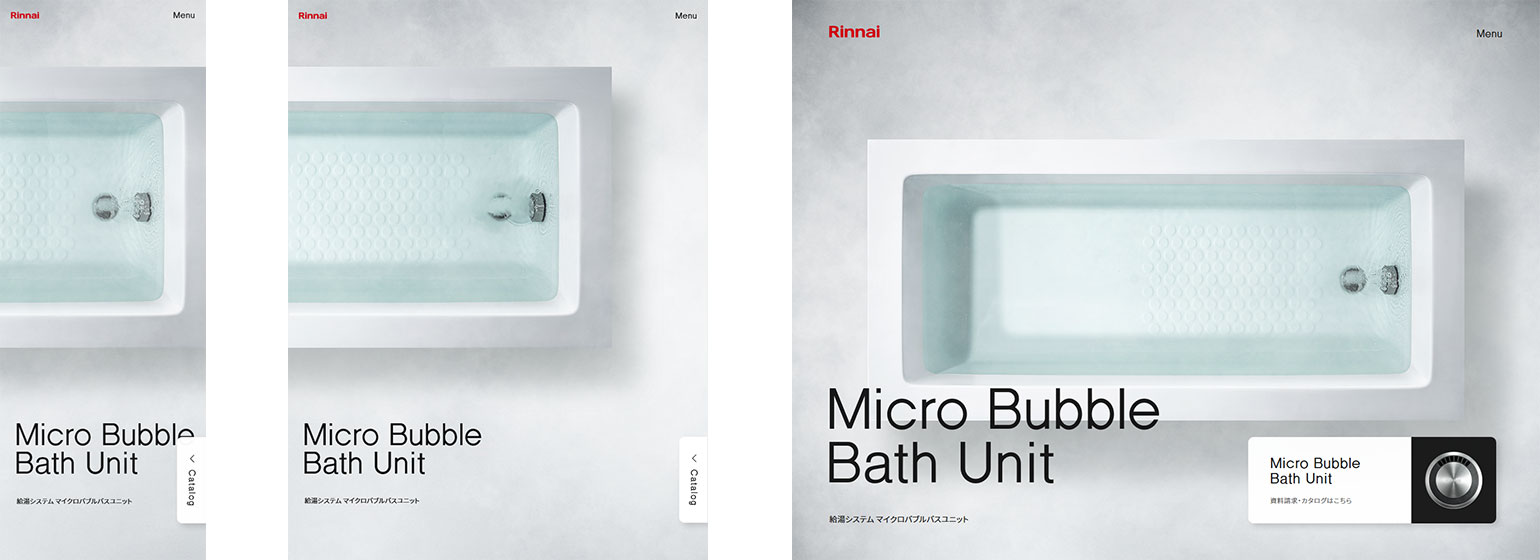 Micro Bubble Bath Unit by Rinnai